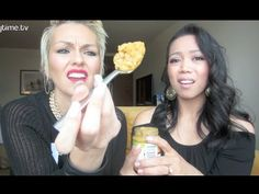 BABY FOOD CHALLENGE with KANDEE! - YouTube Baby Shower game