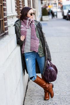 Bundled Street Style.