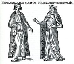 (2099)Hermann Billung, father of Matilda Billung who married Baldwin III, son Arnulf II. Ancestor