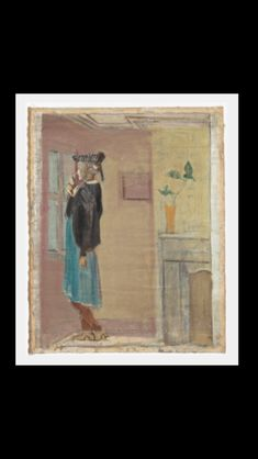 Mark Rothko - Untitled (woman standing by a window), c. 1937-1938 - Oil on linen - 70,5 x 52,7 cm - National Gallery of Art, Washington