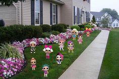 LOL Suprise Dolls Digital Lawn Decorations- LOL Suprise Dolls Birthday Banner- LOL Suprise Dolls Birthday Party - Lol Surprise Birthday