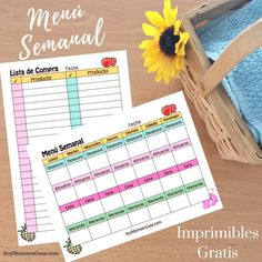 Menu Semanal para Imprimir Gratis =>Haz PIN para guardar, no te lo puedes perder ! Nutrition Activities, Nutrition Tips, Health And Nutrition, Fitness Planner, Meal Planner, Spaghetti Squash Nutrition Info, Nutritional Value Of Eggs, Bullet Journal Banner, Paper Models