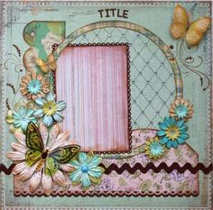 Such a Pretty Mess scrapbook.com page# layout