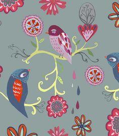 Bird pattern from mati rose mcdonough