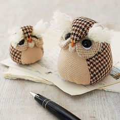 Handmade Owl Paperweight