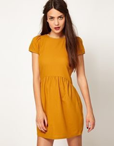 This Sessun Wool Woven Tea Dress is made with organic and fair trade crops. #fallfashion