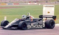 Beppe Gabbiani - Maurer MM82 BMW/Heidegger - Maurer Motorsport - The John Howitt Trophy 1982 - Donington