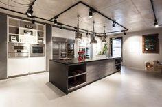 The Kitchen Club - Showroom Showroom, Track Lighting, Ceiling Lights, Club, Interior Design, Home Decor, Nest Design, Decoration Home, Home Interior Design