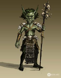 wow goblin shaman concept art by ~nightlybrian212 on deviantART
