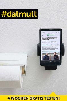 Jetzt das neue Digital-Abo kennenlernen – kostenlos und unverbindlich. Toilet Paper, Getting To Know, Tips And Tricks, Knowledge, Toilet Paper Rolls