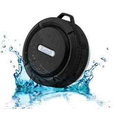 Best Sale Wireless Shower Speaker Waterproof Portable Bluetooth Speaker Supporting Memory Card Stereo Sound Box for iPhone Ipad Android Smartphone (Black) Online Waterproof Bluetooth Speaker, Wireless Speakers, Portable Speakers, Travel Speakers, Iphone Mobile Phone, Shower Speaker, 5 Hours, Loudspeaker, Computer Online
