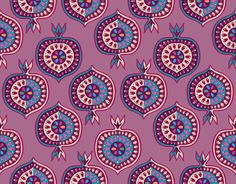 Fruit Slice, Granada, Pomegranate, Illustrations, Patterns, Food, Design, Art, Block Prints