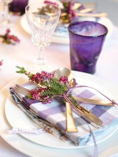 Two Easy Table Settings for Fall