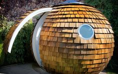 Archipod: attractive, portable office space! i'd like to hide in this and read for a few hours
