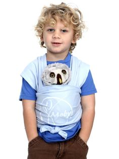 The Moby Wrap Mini is a kid-sized version of one of our favorite baby carriers. The perfect sized for your stuffed owls.