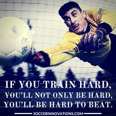 If you train hard, you'll not only be hard, you'll be #hard to beat.