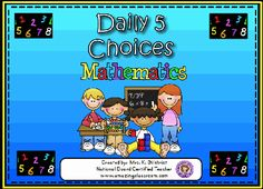 Daily 5 Math Stations Check List