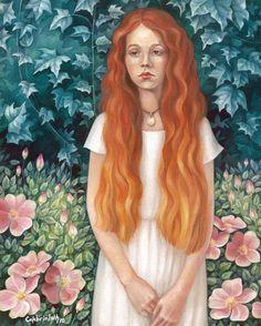 Watercolor & White gouache Size: x 27 cm Sad Girl White Gouache, Sad Girl, Surreal Art, Fantasy Art, Disney Characters, Fictional Characters, Aurora Sleeping Beauty, Watercolor, Deviantart