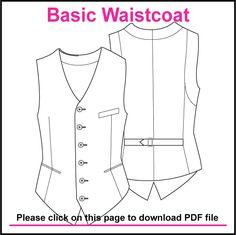 mens waistcoat free pattern https://ianneateblog.wordpress.com/