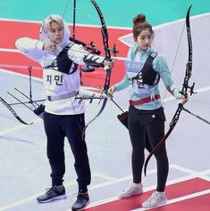 DahMin in ISAC 2017 Archery ✨ —ben bu editime düştüm 🤧 —where their love begins; Bts Twice, Kpop Couples, My Idol, Taehyung, Jimin, Best Friends, Wattpad, Punk, Life Tips