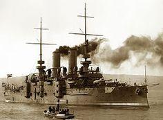 SMS Babenberg [a] era un acorazado pre-dreadnought construido por la Armada austrohúngara en 1899. Ella fue lanzado el 4 de octubre 1902 como el último de los tres Habsburgo acorazados -class . Junto con sus naves hermanas , participó en el bombardeo de Ancona , durante la Primera Guerra Mundial . Al final de la guerra, que fue cedida a Gran Bretaña como un trofeo de guerra.