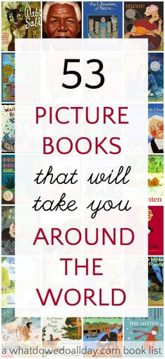 Diverse selection of picture books to teach about countries around the world. Be an armchair traveler with your kids.