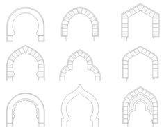 Detail Arches section plan autocad file concrete mortar Miniature Rooms, Miniature Furniture, Doll Furniture, Diy Nativity, Christmas Nativity, Stair Detail, Tuile, Fairy Garden Houses, Doodles Zentangles