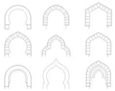 Foro de Belenismo - Planteamiento -> Varios tipos de arcos