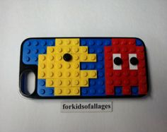 Lego Pac-Man and Ghost Kit: Customize your Belkin Builder Case for iPhone 5 (NO CASE INCLUDED) Also for Mosaics Arts Crafts Scrapbooking+