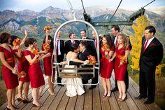 Fall Telluride wedding