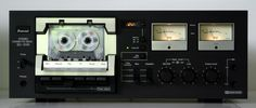 Sansui cassette de k from the mid-1970s. The best of the budget brands. Their was a sort of pecking order among stereo cassette decks: Sansui, Realistic, Sanyo, Sankyo and Panasonic at the bottom; JVC, Pioneer, Marantz, Teac, Technics, B*I*C, Uher, SAE and Dual in the lower-middle; Yamaha, Pioneer, Teac, Bang & Olufsen, Luxman in the upper middle; Nakamichi, Revox, Tandberg, Arcam and Eumig at the top end.