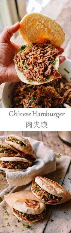 Chinese hamburger rou jia mo recipe hamburgers china chinese hamburger recipe by the woks of life forumfinder Image collections