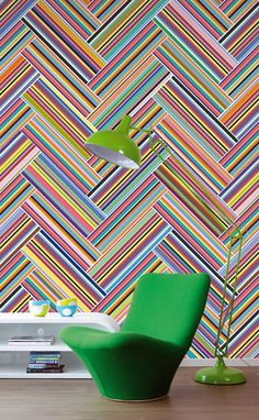 Wallpaper of the Week: Stripes Only by Eijffinger
