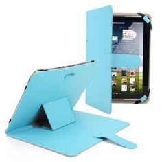 """11€ envion incl.   CLE DE TOUS@ Funda Soporte Universal Con Banda Elástica Azul cuero sintetico PU 10'' 10.1'' Pulgada Tablet PC MID PAD para 10"""" Epad, Apad, Acer Iconia Tab A200 A211, ACER ICONIA Tab A700, Sony Xperia Tablet S 9.4ich , ASUS Transformer Pad TF300,TF200, Asus EeePad Transformer TF101, Motorola XOOM MZ604, HUAWEI MediaPad ,NOOK HD+ ,Samsung Galaxy Note 10.1 GT-N8013 N8000 ,Samsung Galaxy Tab 2 10.1 GT-P5100 P5113 P5110 ,Samsung Galaxy Tab 10.1 GT-P7510 P7500, Archos Arnova 10b…"""