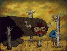 """Andy Kehoe """"Visit From the Spirit of Dead Forests"""" 2009"""