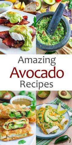 Amazing Avocado Recipes from Closet Cooking Wrap Recipes, New Recipes, Cooking Recipes, Favorite Recipes, Mexican Food Recipes, Vegetarian Recipes, Healthy Recipes, Avocado Dessert, Best Avocado Recipes