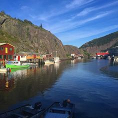 Absolutely gorgeous day at Quidi Vidi village in #Newfoundland with #wwwYYT