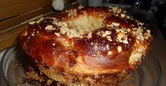 Πράγματι δεν έχω ξανακάνει άλλη φορά τόσο γρήγορα και εύκολα τσουρέκι. Δίχως πολύ ζύμωμα με λίγα υλικά αλλά και με εκατό, τις εκατό επι... Greek Sweets, Greek Desserts, Greek Recipes, Low Calorie Cake, Greek Cookies, Sweets Cake, Bread Cake, Sweet Bread, Afternoon Tea