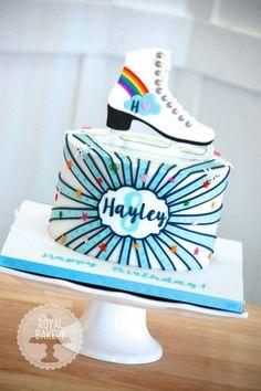 Ice Skaters Cake
