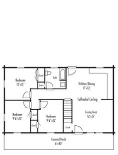 images about Floor plans on Pinterest   Ranch House Plans     x bedroom sqft