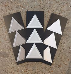 New year, new shape! As we see more triangles and other geometric shapes we are excited to use these for your project! Backsplash, accent band, feature wall... the options are endless. . . . #unitedtileco #shapes #triangle #geometric #backsplashoptions #accentband #featurewall #newdesigns #remodeling #newconstruction #ceramictile #newyearnewshape #showroomdesigners #thestressfreezone New Shape, Porcelain Ceramics, New Construction, Triangles, Geometric Shapes, Backsplash, Remodeling, Band, Projects