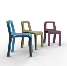 SKIN chair - designed by julien Vidame #chair #chaise #plastic #plastique #polycarbonat #polycarbonate #colors #couleurs #doubleskin #doublepeau #ouvert #open #aerien #aerial #julienvidame #vidamestudio #newproject #nouveauprojet #rennes #bretagne #designer #productdesign