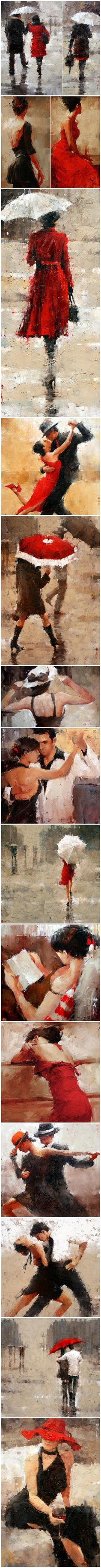 Andre Kohn. Love the colors