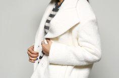 Snow wool coat