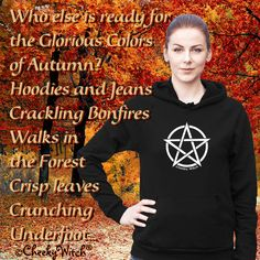 Are you ready? #thefall #hoodieseason #autumn #halloween #witch #wiccan #pagan