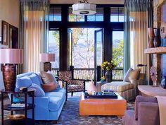 Amazing Style of Living Room Design: Colorful Elegant Living Room Decorating Pictures ~ flohomedesign.com Living Room Inspiration