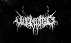 Wendigo - Black // Death Metal logos 2015 by Alice Bramucci on Behance