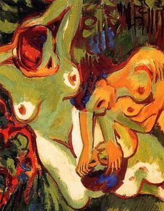 Nudes - Ernst Ludwig Kirchner