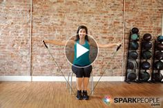 Sit Down to Shape Up: Full body resistance band toning #workout you can do from a chair! No Excuses...   via @SparkPeople #exercise #fitness