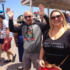 Day 2 on Agent Destination Mission Catalina, fun on Catalina Island with John Malott and Jill Herr.